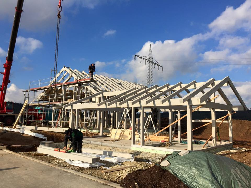 Holzskelettbauweise  Holzskeletthäuser - KURTH-HAUS